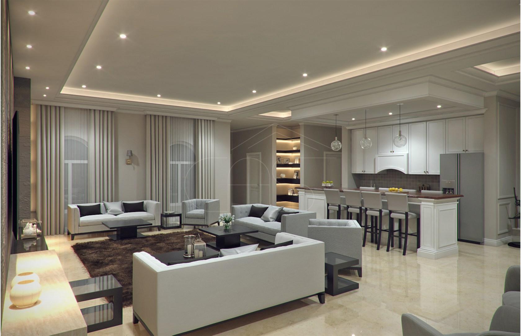 Modern Classic Villa Interior Design - Architizer