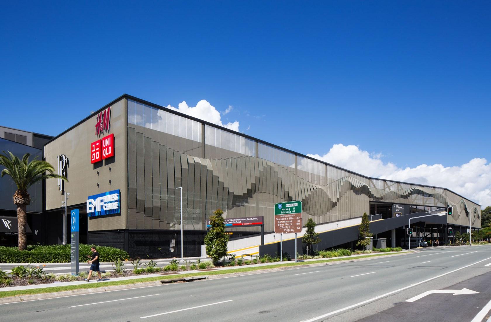 Pacific Fair Shopping Center Carpark Facade - Architizer