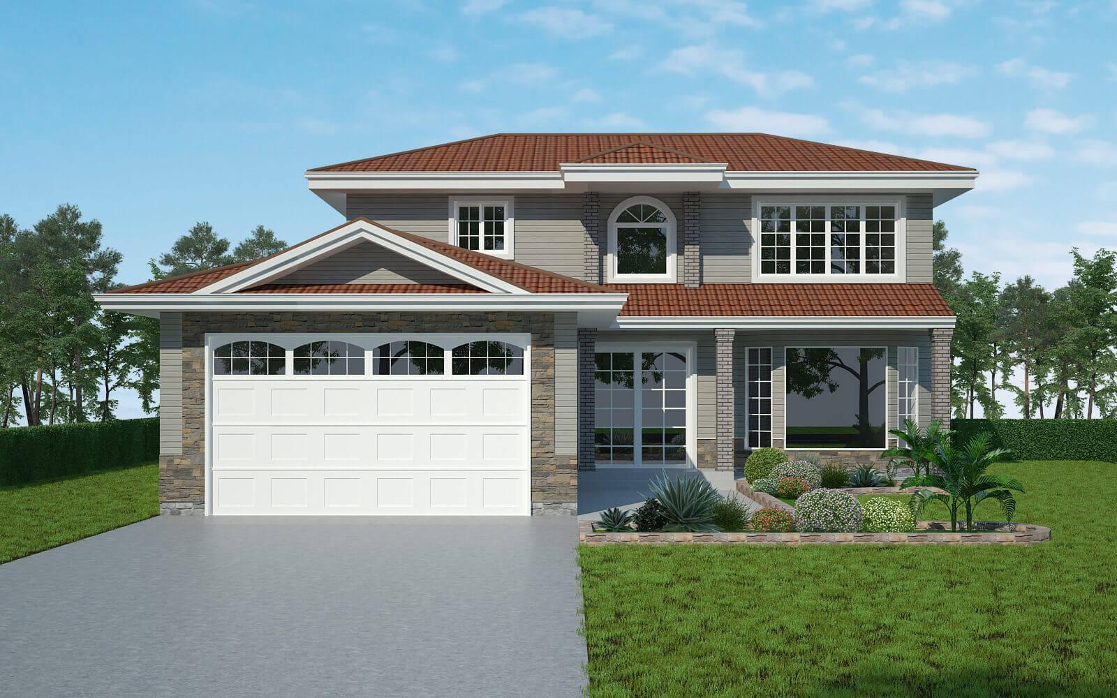 3d Exterior Home House Design Services - Architizer