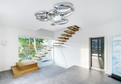 How To Detail A Fantastic Floating Staircase Architizer Journal | Glass Staircase Near Me | Baluster | Spiral Staircase Design | Stair Treads | Frameless Glass | Staircase Railings