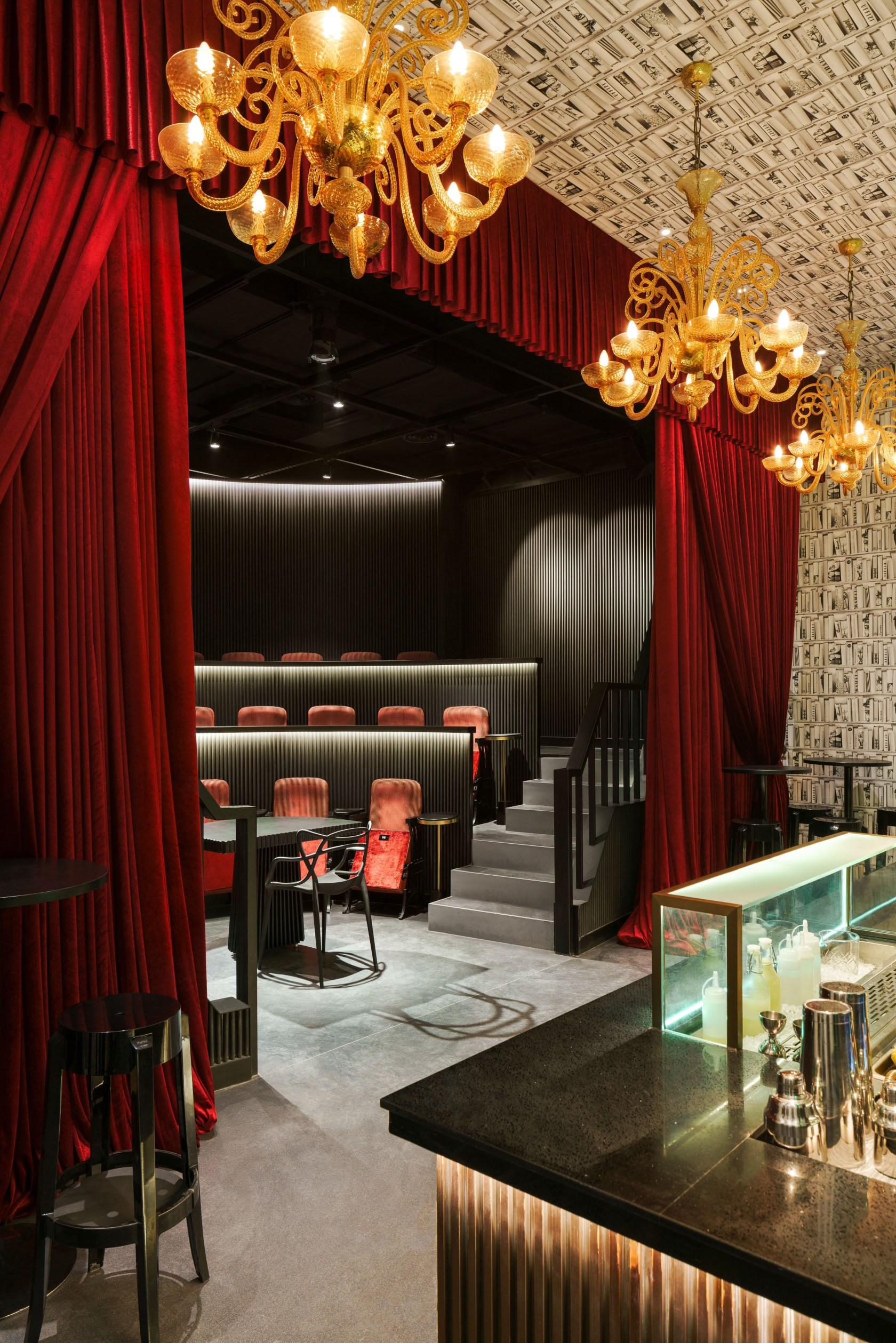 Blackstone Magic Bar - Architizer