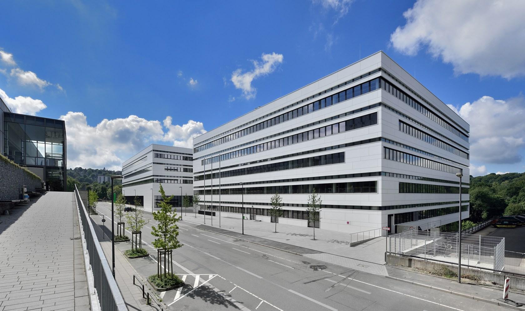 Buildings Bergische Universitt Wuppertal