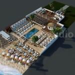 Idea 2593259 Beach Restaurant 3d Floor Plan Design Ideas By Architectural Design Studio Paris France By Floor Plan Designer In Paris France
