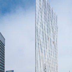 Large Size Office Chair Eames Fiberglass Diagonal Zerozero Telefonica Tower - Architizer