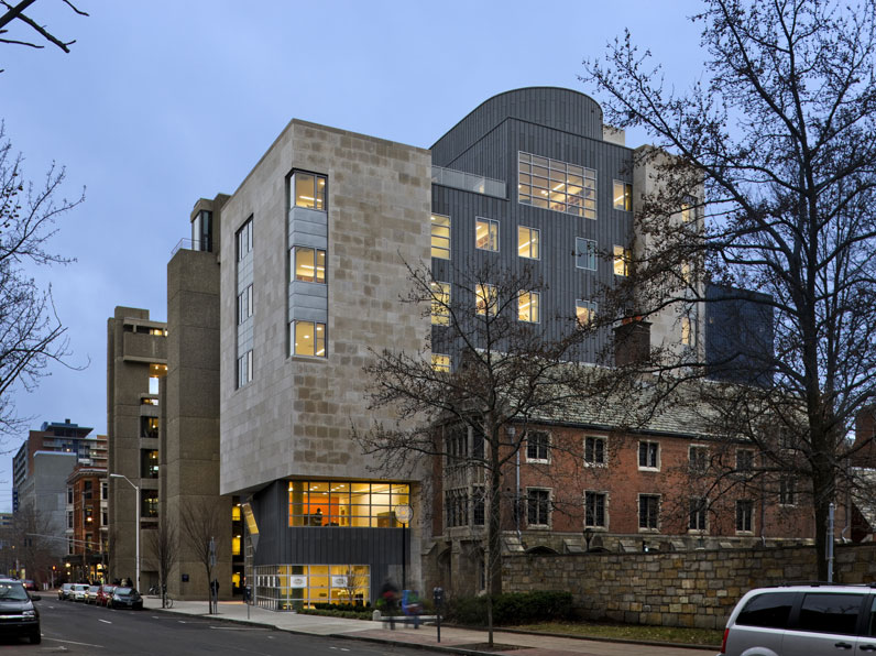 Yale Arts Complex - Architizer