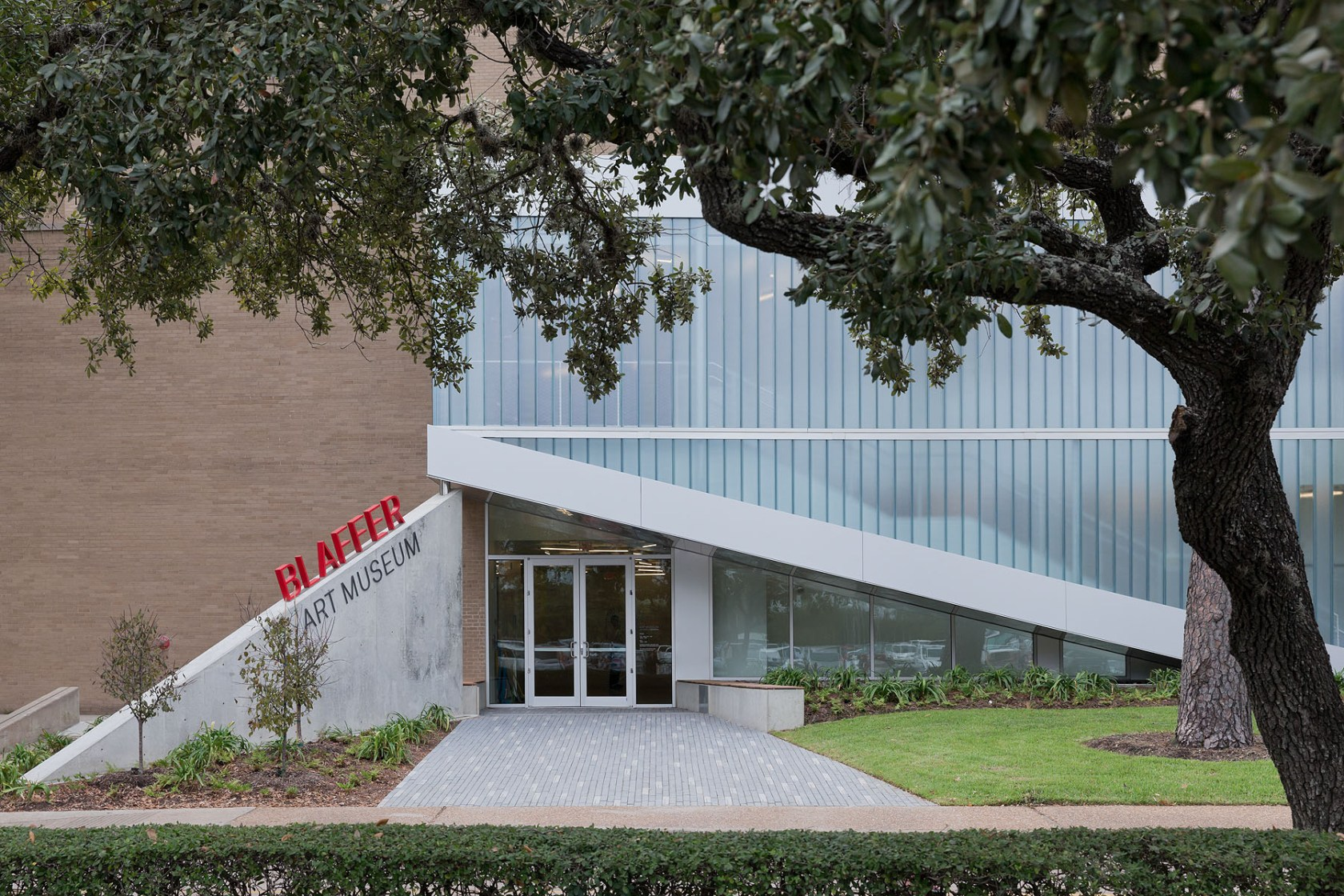 Blaffer Art Museum Renovation - Architizer