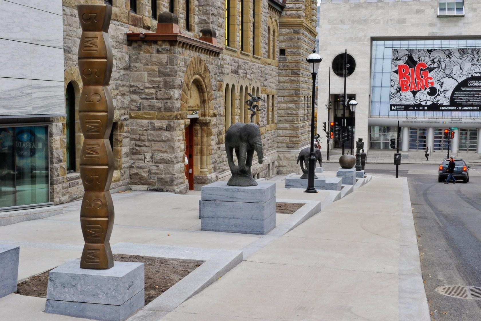 Montreal Fine Arts Museum Public Sculpture Garden - Architizer