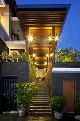 Tropical Balinese Modern House - Architizer