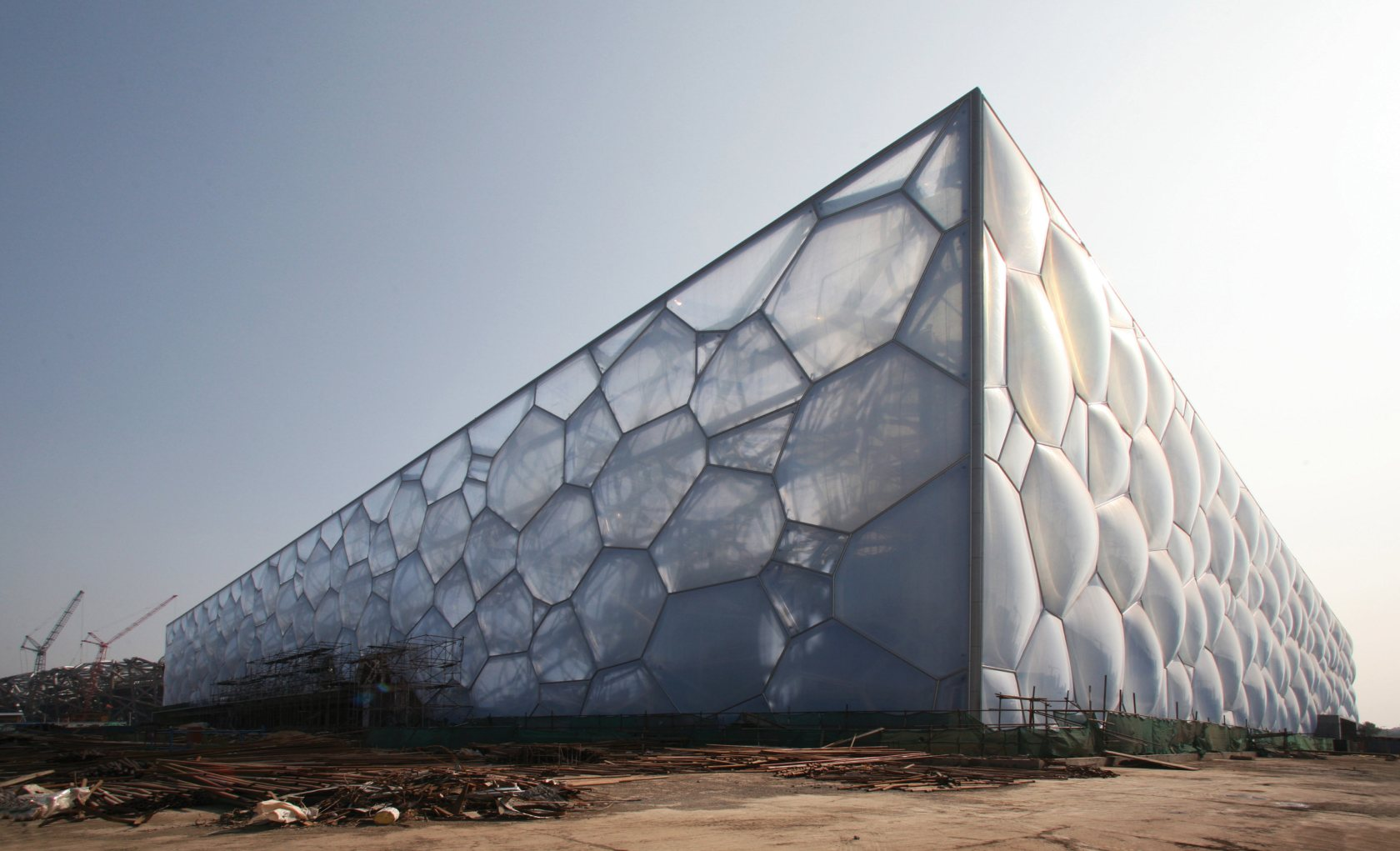 Watercube National Swimming Centre - Architizer