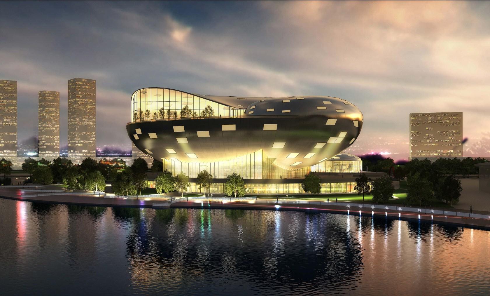 Busan Opera House South Korea - Architizer