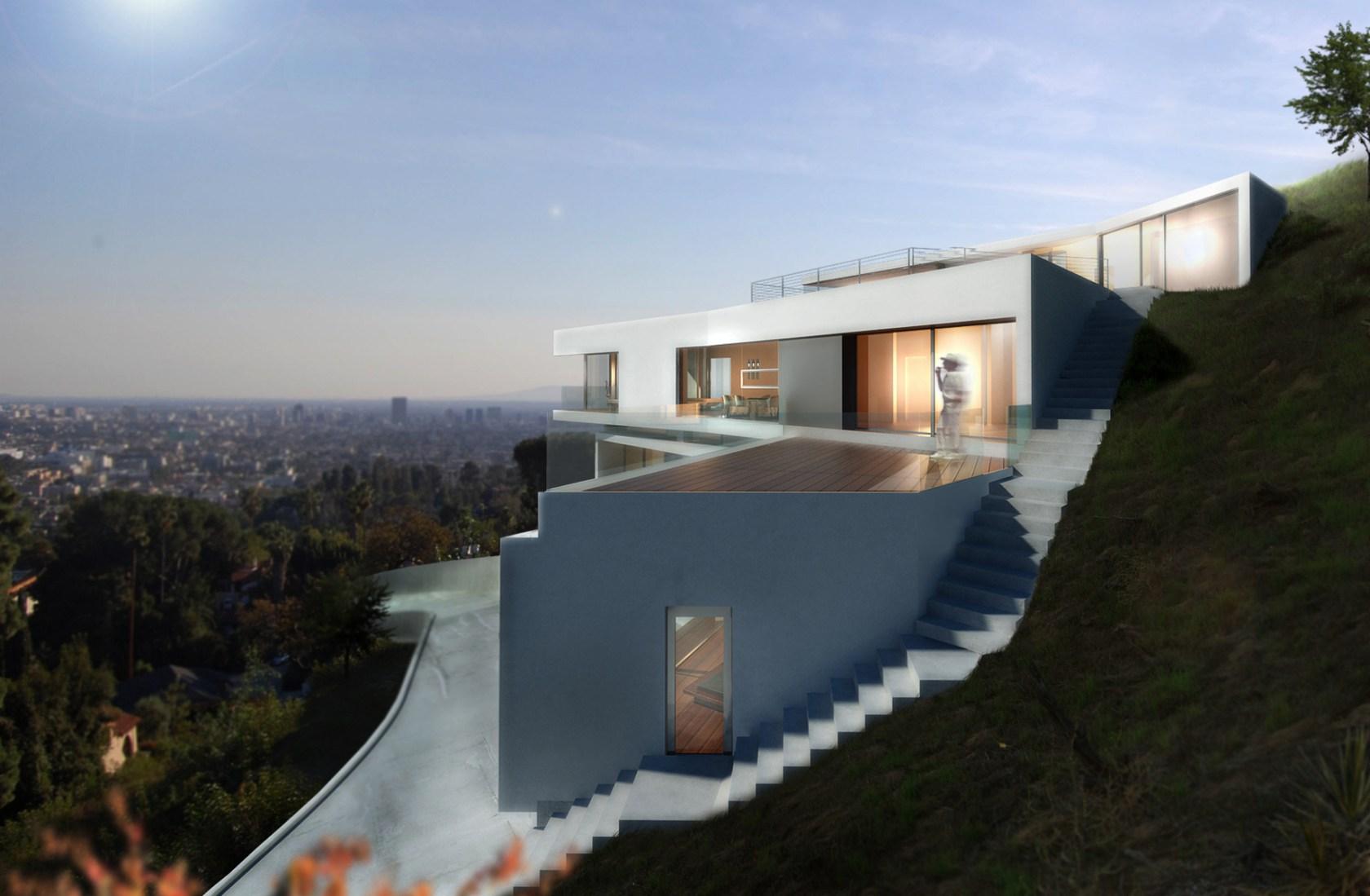 Los Angeles Hillside Modern - Architizer