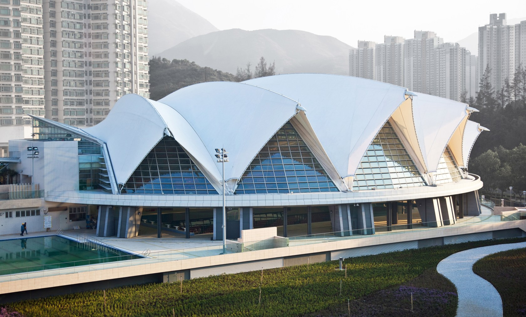 Tung Chung Swimming Pool - Architizer