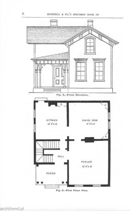 Architektura wiktoriańska. 100 projektów !100 Victorian