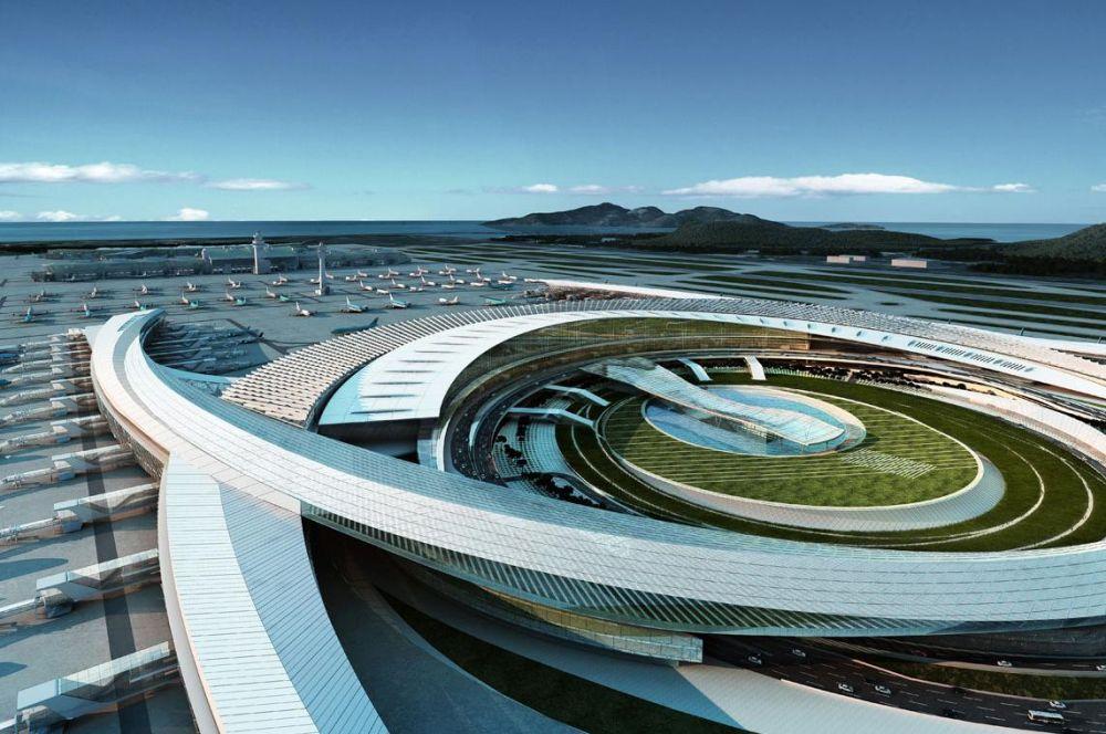 Incheon International Airport Passenger Terminal 2 Design