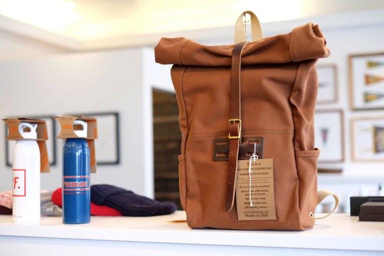 Archival Rolltop Bag