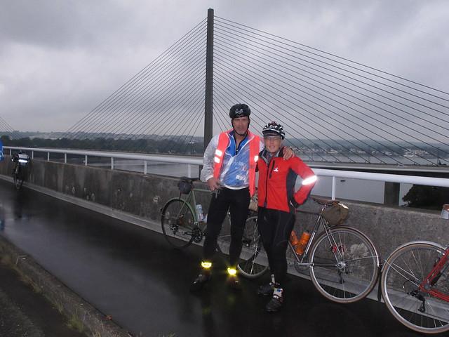On the bridge in Brest in 2011