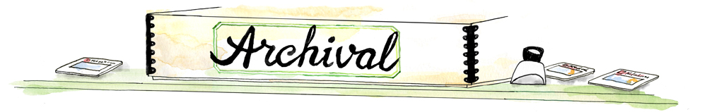 Archival blog header