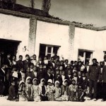 Knowledge Corps Members and Local Schoolchildren in Dargaz