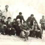 Group of Knowledge Corps Members and Turkmen Kurdish Villagers