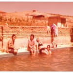 Armenian-Iranians at the Pool, Swimming and Sunbathing