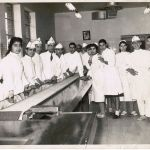 Young Men and Women Working at a Penicillin Factory in Tehran