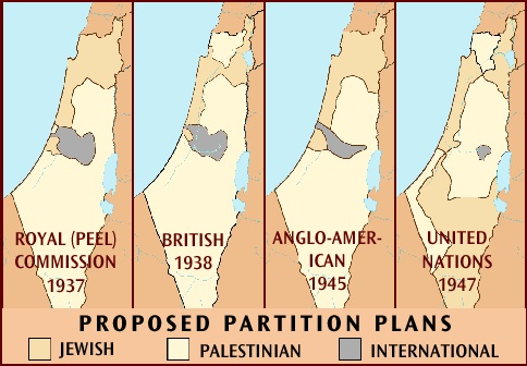 Image result for un partition of palestine