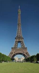 Էյֆել աշտարակ - Բարձրութիւն` 324 մեթր - Քաղաք` Փարիզ (Ֆրանսա): - Կառուցման աւարտ` 1889