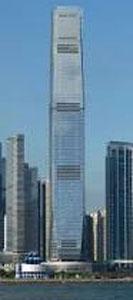 Ինթըրնեշընըլ Քոմերս սենթըր - Բարձրութիւն` 483 մեթր - Քաղաք` Հոնկ Քոնկ (Չինաստան)