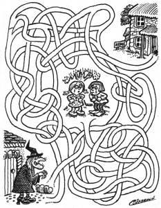 Կրնա՞ս օգնել Հանսելին եւ Կրեթըլին` գտնելու տան ճամբան, խուսափելով վհուկէն: