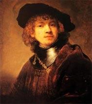 Ռամպրանթի ինքնանկարը` երիտասարդութեան (գծուած` 1634-ին):