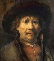 Ռամպրանթի ինքնանկարը` գծուած 1655-ին: