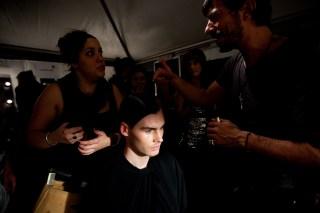 Friedrich Gray backstage