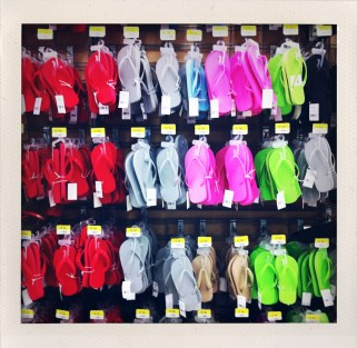 $2.50 thongs at Walmart
