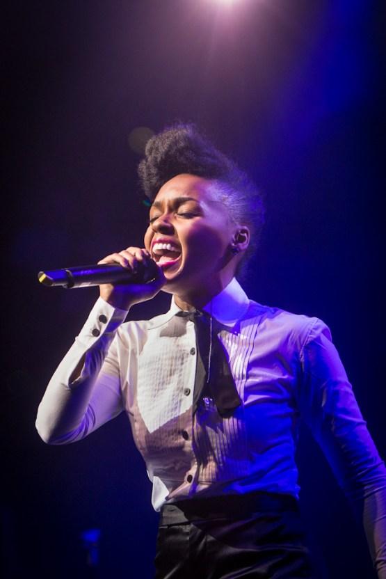 Janelle Monae performs at Vivid LIVE