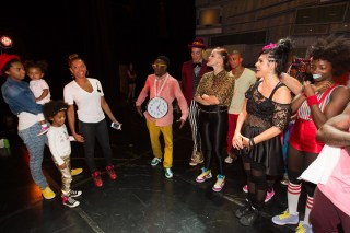 Mel B and family meets the BLAZE cast
