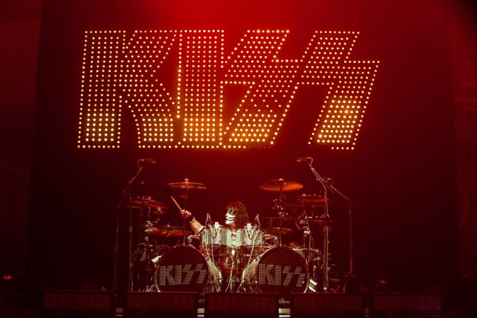 KISS perform live at Allphones Arena