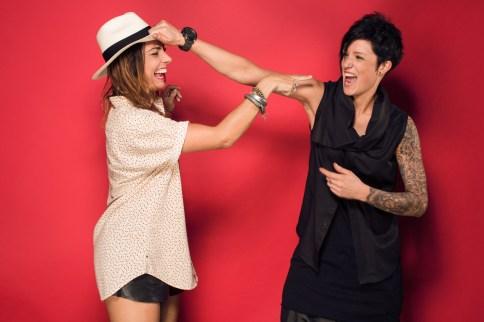 Minx and Leah Mencel
