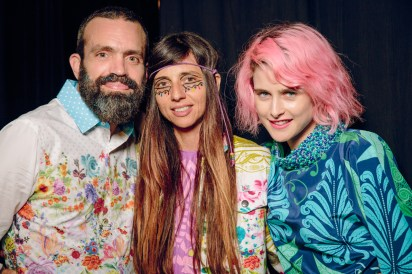Johnny Seymour, Paz Lenchantin and Anna Plunkett