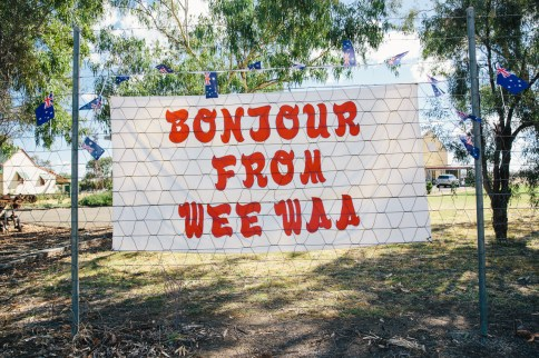 For those pronouncing it wrong - Wee Waa rhymes with Bonjour