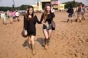 Leeds Festival 2013 punters