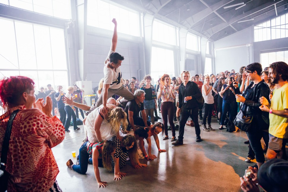 The Julie Ruin crowd - MONA FOMA Tasmania