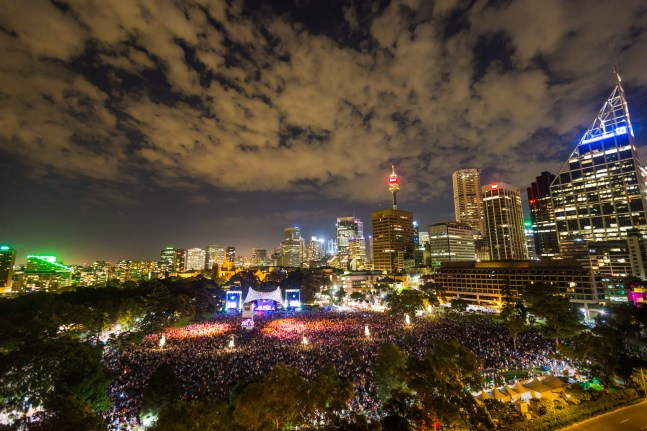 Summer Sounds in the Domain