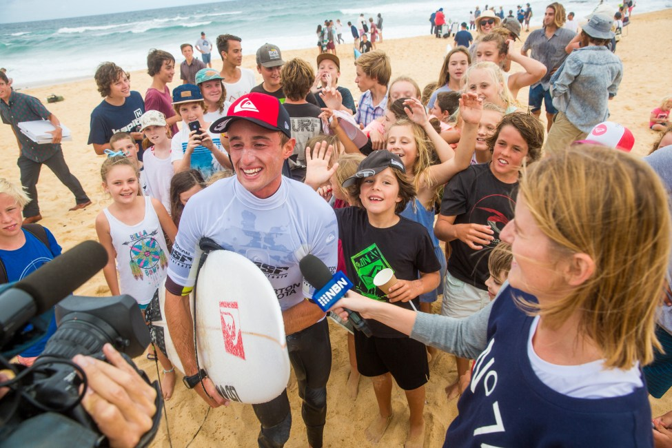 Matt Banting wins Surfest