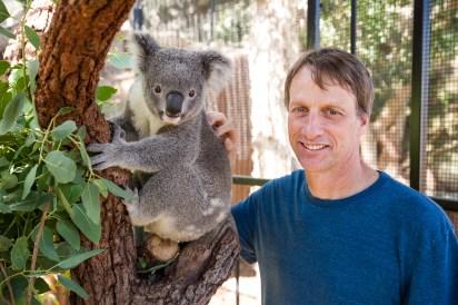 Tony Hawk at Taronga Zoo