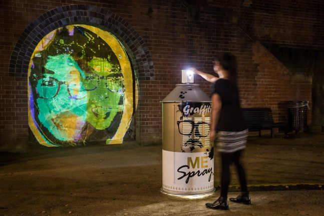 Vivid Sydney 2014 : Graffiti Me