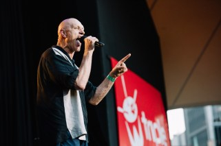 : Peter Garrett - Triple J's Beat the Drum concert The Domain Sydney