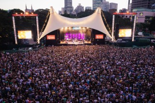 : Triple J's Beat the Drum concert The Domain Sydney