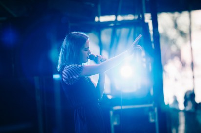 Brisbane Laneway Festival 2015 : Eves The Behaviour RNA Showgrounds Brisbane