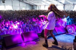 Brisbane Laneway Festival 2015 : Tkay Maidza RNA Showgrounds Brisbane