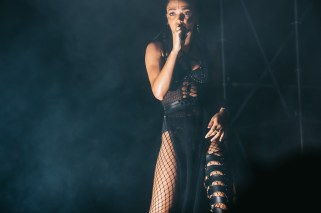 Brisbane Laneway Festival 2015 : FKA Twigs RNA Showgrounds Brisbane